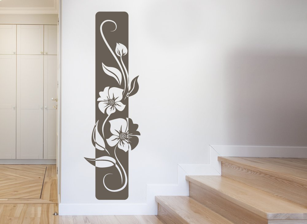 Floral 22 sticker perete stickere decorative - Wandtattoo fur flur ...