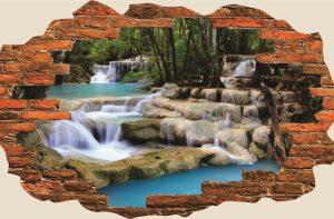Sticker cascada