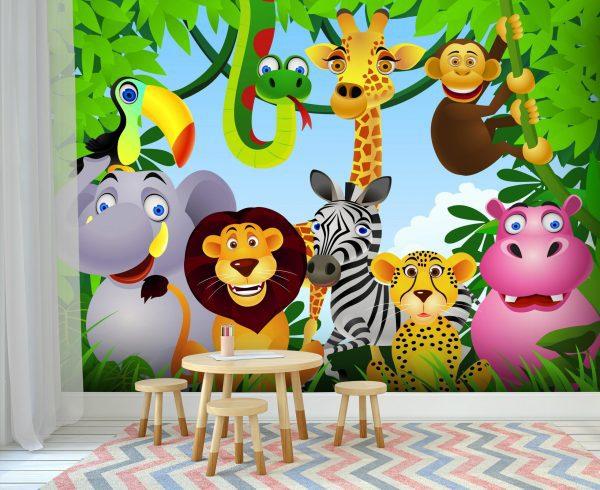 Fototapet copii -cod 24 - In jungla