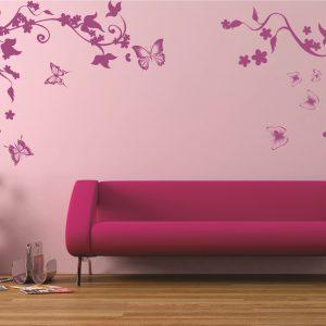 Sticker Floral 014